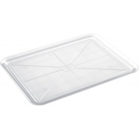 Plastic Tray Clear 37x50cm (4 Units)