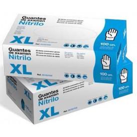 Nitrile Gloves Blue Size XL 3,5g (1000 Units)