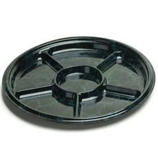 Plastic Tray Marble 6C 30 cm (5 Units)