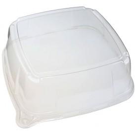 Plastic Deksel voor dienblad 27x27x8 cm (5 eenheden)