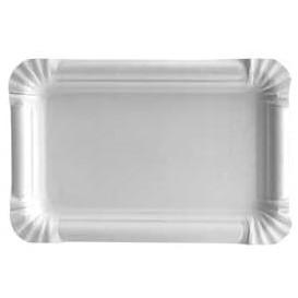 Paper Tray Rectangular shape White 12x19 cm (1.500 Units)