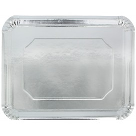 Paper Tray Rectangular shape Silver 34x42cm (200 Units)
