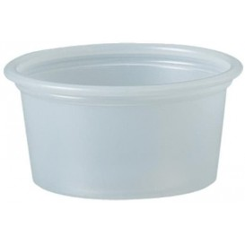 Plastic Souffle Cup PS Clear 22ml Ø4,8cm (5000 Units)