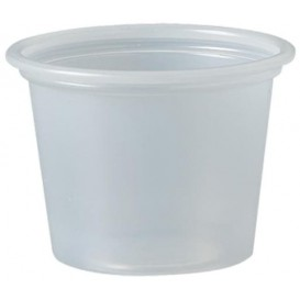 Plastic Souffle Cup PS Clear 30ml Ø4,8cm (250 Units)