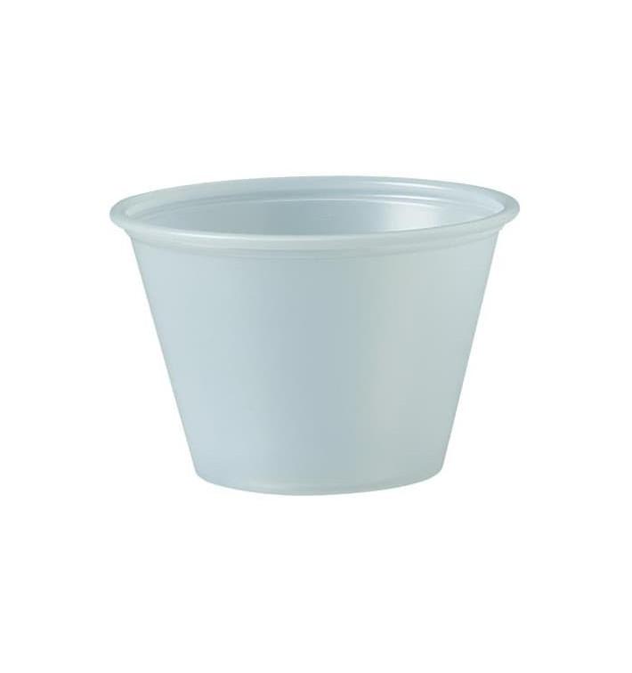 Plastic Souffle Cup PS Clear 75ml Ø6,6cm (250 Units)