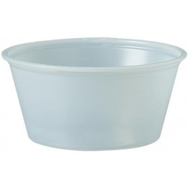 Plastic Souffle Cup PS Clear 100ml Ø7,3cm (250 Units)