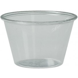 Plastic Souffle Cup PS Clear 120ml Ø7,3cm (2500 Units)