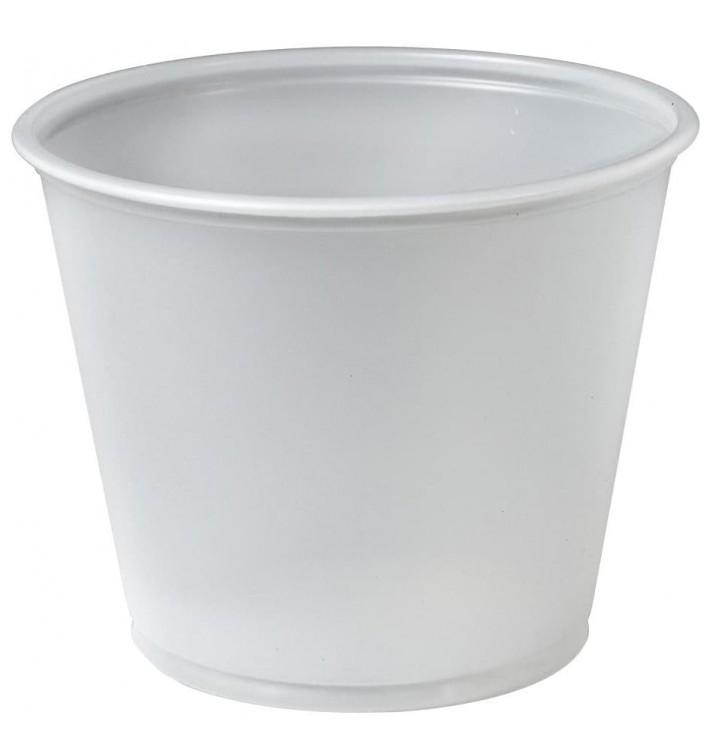 Plastic Souffle Cup PS Clear 165ml Ø7,3cm (250 Units)