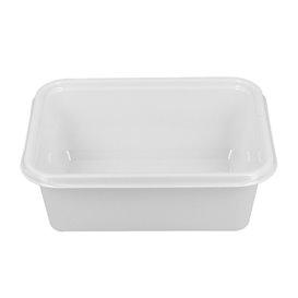 Plastic Tray White 12,7x9,1x4,2cm 300ml (1000 Units)