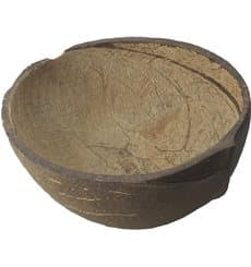 Coconut Bowl Natural 150ml (10 Units)