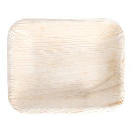 Palm Leaf Tray Rectangular Shape 16x12,5x3cm (200 Units)