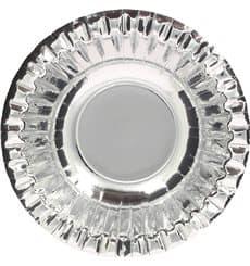 """Paper Bowl """"Party"""" Silver Ø16cm (6 Units)"""
