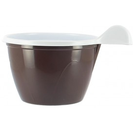Plastic Cup Chocolate 100 ml (20 Units)