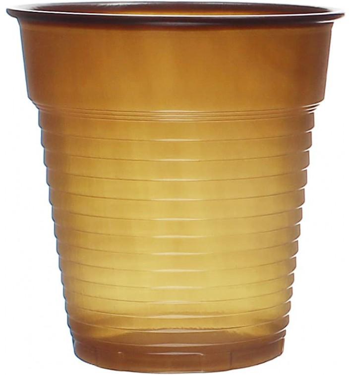 Plastic Cup PS Vending Brown 166ml Ø7,0cm (3000 Units)