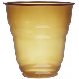 """Plastic Cup PS Vending """"Design"""" Brown 166ml Ø7,0cm (3000 Units)"""