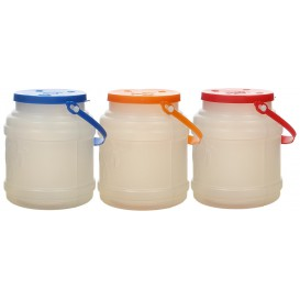 Garrafa Translúcida con Asa 500 ml (100 Uds)