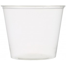 Plastic Souffle Cup PET Crystal 165ml Ø7,3cm (250 Units)