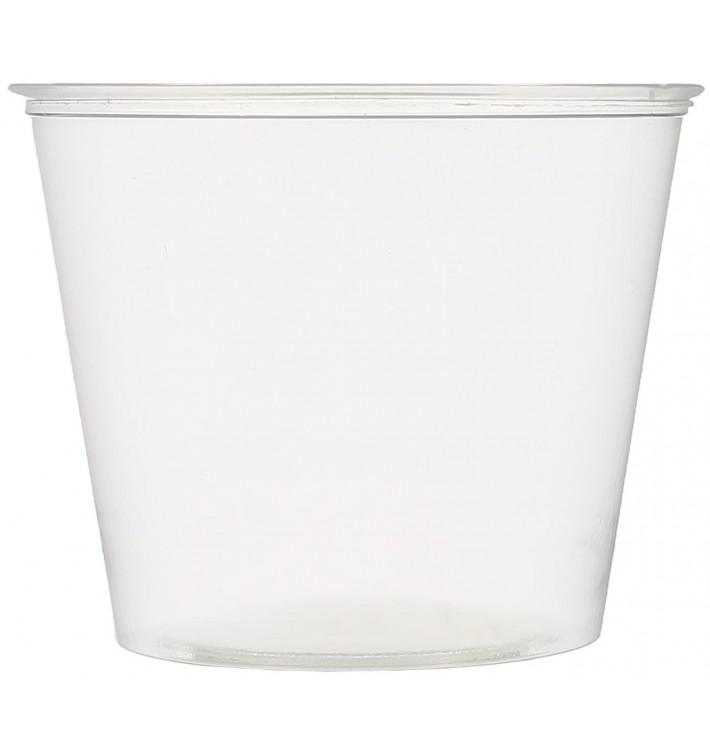 Plastic Souffle Cup PET Crystal 165ml Ø7,3cm (250 Units)