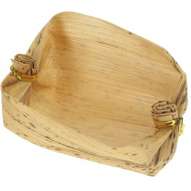 Bamboo Tasting Mini basket 3,8x5,8x3,8cm (25 Units)
