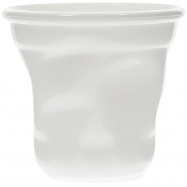 "Tasting Plastic Mini Cup PS ""Cabosse"" White 60ml (12 Units)"