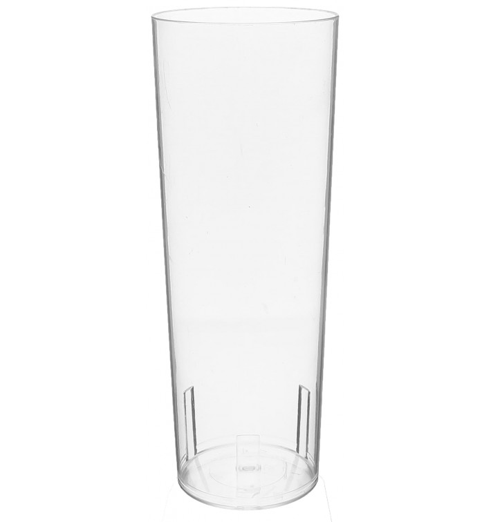 Plastic Collins Glass PS Crystal 330 ml (500 Units)