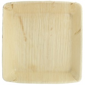 Palm Leaf Plate Deep Square Shape 16x16cm (25 Units)