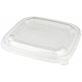 Plastic Lid PP Clear for Bowl 17x17cm (300 Units)
