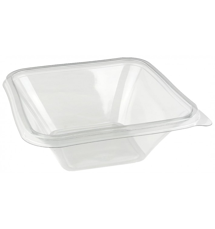 "Plastic Bowl PET ""Impression"" 750ml 17x17x6cm (50 Units)"