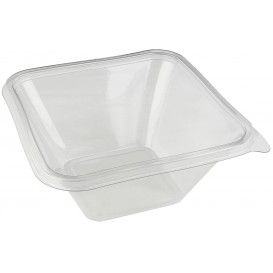 "Plastic Bowl PET ""Impression"" 1000ml 17x17x8cm (50 Units)"