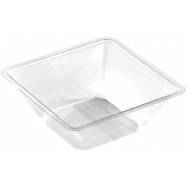 Plastic Mini-Bowl PET Heat Sealable 175ml 9x9x4cm (50 Units)