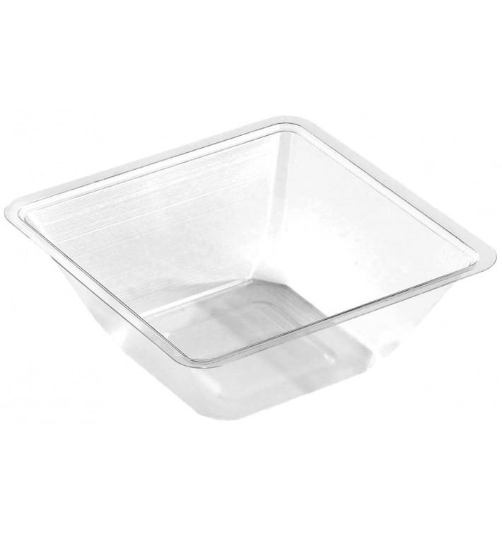 Plastic Mini-Bowl PET Heat Sealable 175ml 9x9x4cm (50 Units)