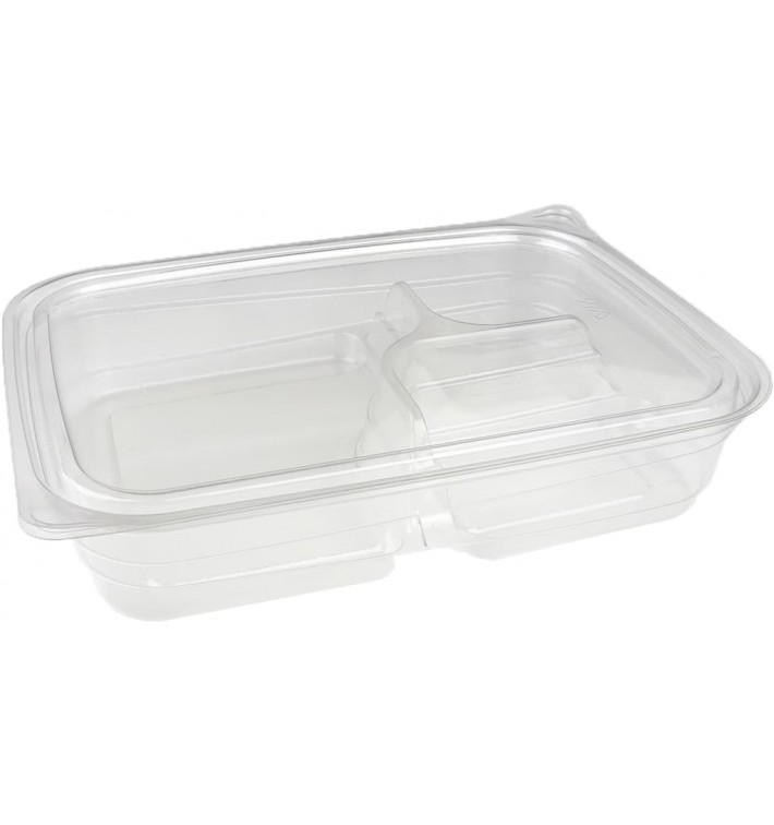 Plastic Deli Container PET 3C 700ml 22x16x4cm (300 Units)