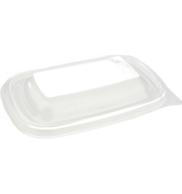 Plastic Lid for Deli Container PP Rectangular shape Black 20x13cm (50 Units)