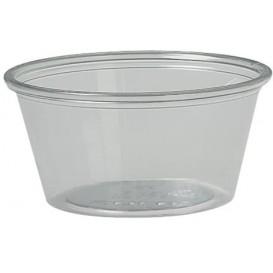 Plastic Souffle Cup PET Clear 2Oz/60ml Ø6,6cm (250 Units)