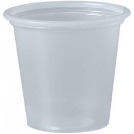 Plastic Souffle Cup PP Clear 35ml Ø4,8cm (2500 Units)