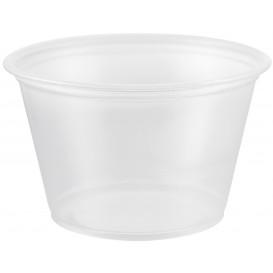 Plastic Souffle Cup PP Clear 120ml Ø7,3cm (125 Units)