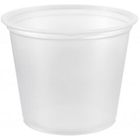 Plastic Souffle Cup PP Clear 165ml Ø7,3cm (125 Units)