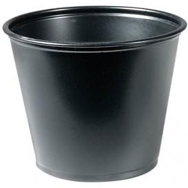 Plastic Souffle Cup PP Black 165ml Ø7,3cm (125 Units)