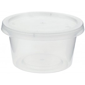 Plastic Souffle Cup with Lid PP 120ml (50 Units)