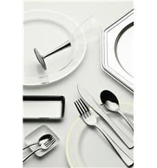 Plastic Spoon Metallized 17,5cm (180 Units)