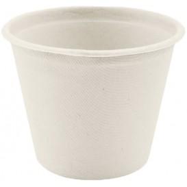 Sugarcane Container White Ø11cm 450ml (50 Units)