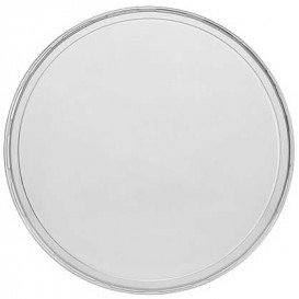 Plastic Lid PP for Deli Container Clear 350, 500 y 1000ml Ø11,5cm (500 Units)