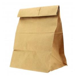 Paper Bag without Handle Kraft 18+11x34cm (500 Units)