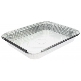 "Foil Pan ""24 Cannelloni"" 2400ml 32,5x25x3,8cm (100 Units)"