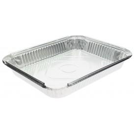 "Foil Pan ""24 Cannelloni"" 2400ml 32,5x25x3,8cm (400 Units)"