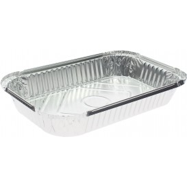 "Foil Pan ""15 Cannelloni"" 1500ml 28x18x3,7cm (100 Units)"
