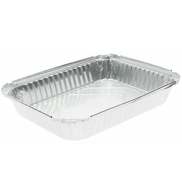 "Foil Pan ""12 Cannelloni"" 1180ml 24x18,8x3,5cm (600 Units)"