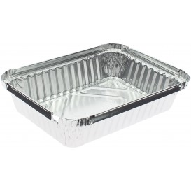 "Foil Pan ""6 Cannelloni"" 590ml 19,1x14,1x3,3cm (100 Units)"