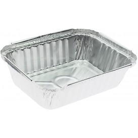 "Foil Pan ""3 Cannelloni"" 360ml 15,6x11,6x3,5cm (100 Units)"