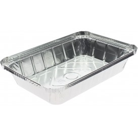"Foil Pan ""9 Cannelloni"" 890ml 22,5x15,5x3,6cm (100 Units)"